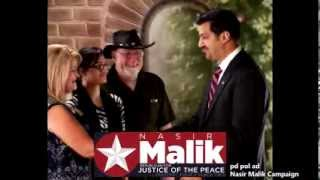Nasir Malik - Republican for Justice of the Peace - Precinct 4 Place 2 - Republican Primary