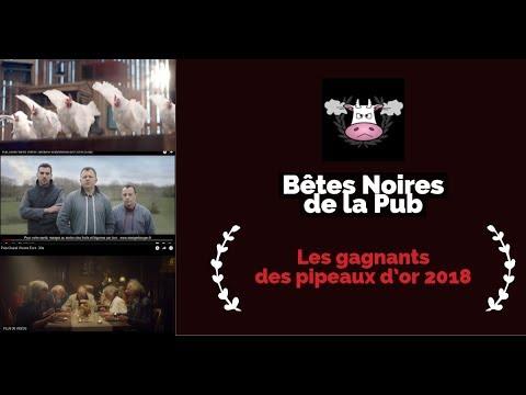Bêtes Noires de la Pub 2018 : les gagnants