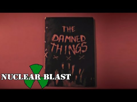 THE DAMNED THINGS - Omen (OFFICIAL LYRIC VIDEO)