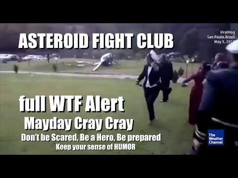 Alert LVL Volcanoes, Tornadoes, Hurricanes & new Magnetic Mechanisms: ASTEROID FIGHT CLUB