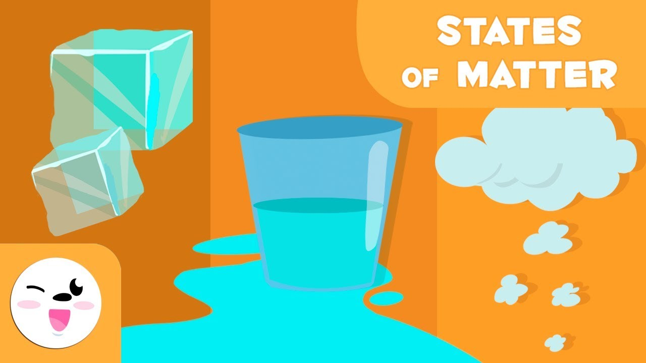 States of matter for kids - What are the states of matter? Solid, liquid and  gas - YouTube