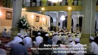 Majlis Dzikir, Maulidur Rasul SAW & Haul Sayyidatina Siti Khodijah Al Kubra rha