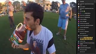Ice Poseidon Drinks Extreme Hot Sauce