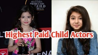Category Highest Paid Child Actors In Bollywood