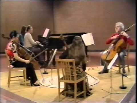 Paul Tortelier masterclass - Rachmaninov Sonata in G Minor