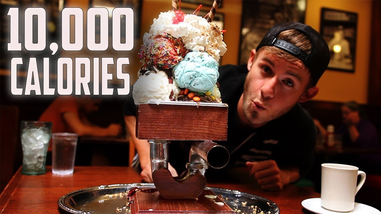 THE KITCHEN SINK CHALLENGE! | 10,000+ CALORIES - YouTube