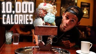 THE KITCHEN SINK CHALLENGE! | 10,000+ CALORIES
