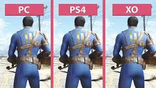Fallout 4 – PC vs. PS4 vs. Xbox One Graphics Comparison [FullHD][60fps]