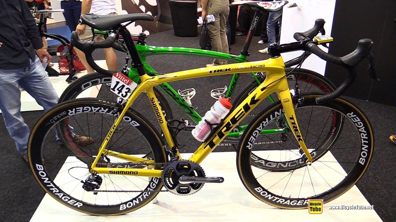 2016 Trek Factory Racing Road Bike - Walkaround - 2015 Eurobike ...