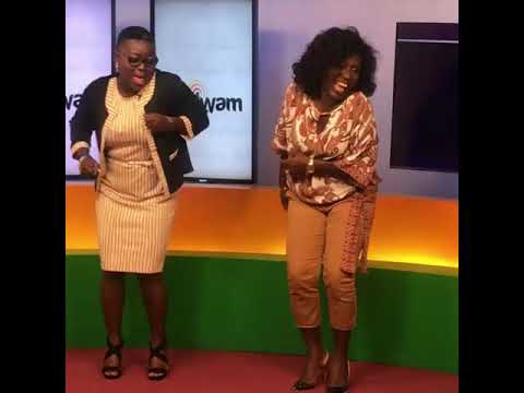 Wow Watch Diana Hamilton Dance to her new song Mo Ne Yo @ Adom TV