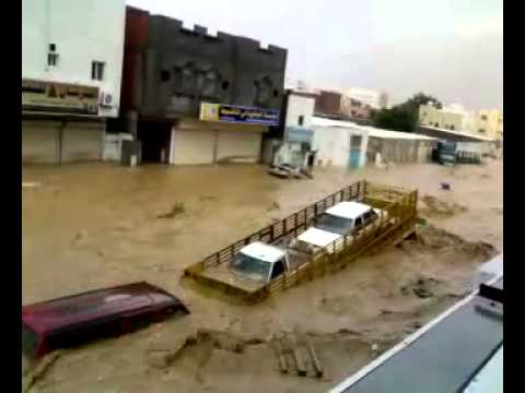 jiddah flood saudi arabia dam broke mp4