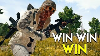 Win Win Win - PlayerUnknown's Battlegrounds (PUBG)