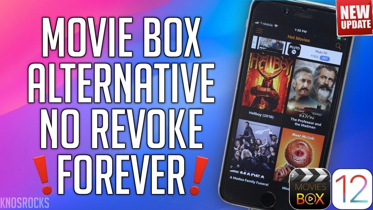 2019 FREE Movie BOX Alternative Watch Movies & TV Shows iOS 12 - 12.3 NO JAILBREAK / REVOKE FORE