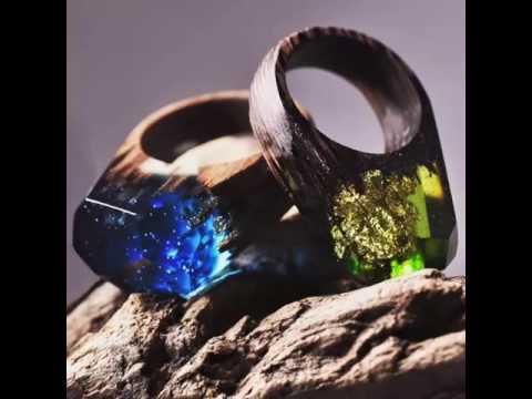 wooden magic rings