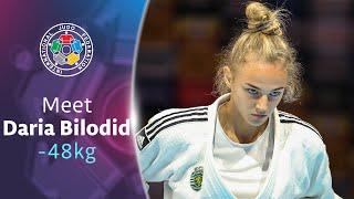 Meet your judoka - Daria Bilodid (UKR)