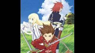 Tales of Symphonia Fighting Of The Spirit 8-bit version