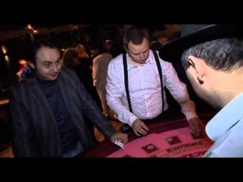 Видео Вечеринка в стиле казино