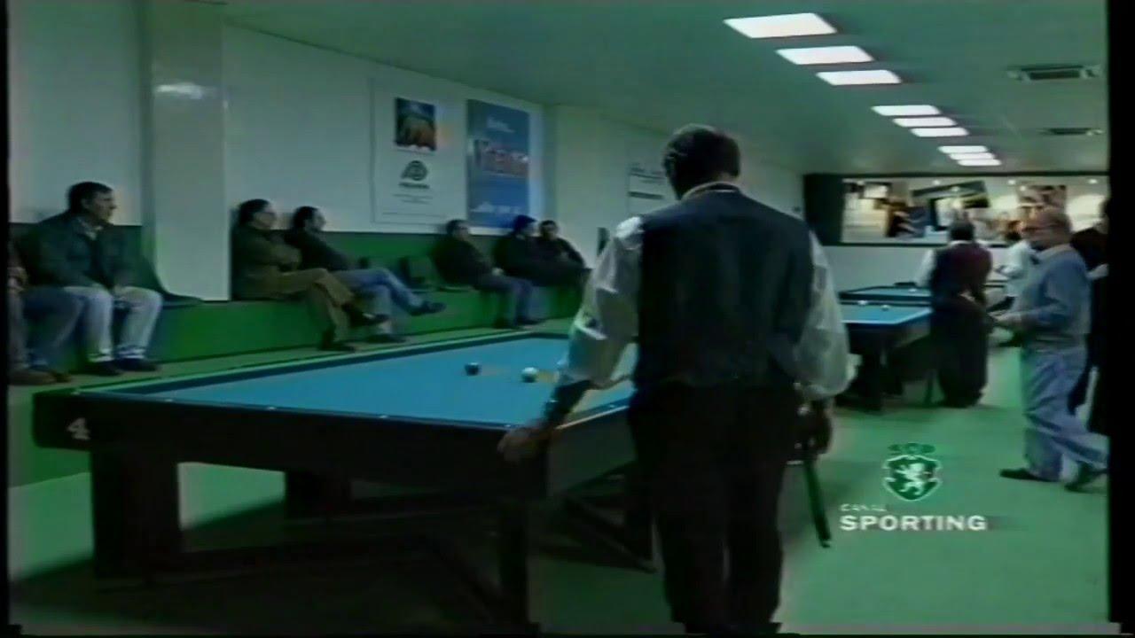 Bilhar :: Sporting - 4 x Fenianos - 0 de 1998/1999
