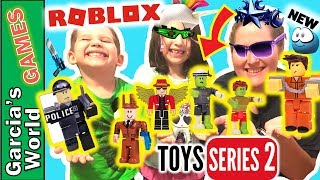 ROBLOX TOYS SERIES 2 - ALL EXCLUSIVE VIRTUAL ITEMS YOU CAN REDEEM RIGHT NOW WITH TOY CODES