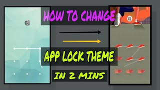 How to apply app lock theme on any android screenshot 3