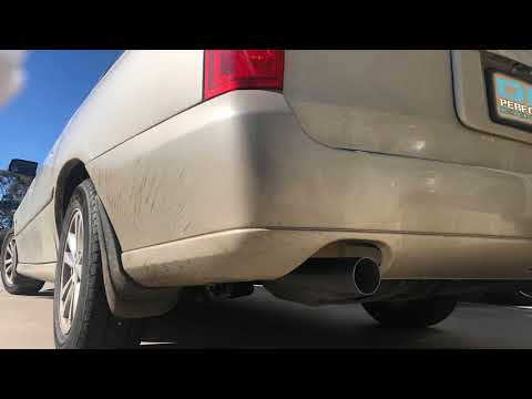 Repeat My VY (V6) Commodore Revving W/ 2 1/2'' Cat Back / Sport's