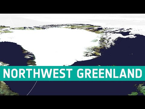 Earth from Space: Northwest Greenland