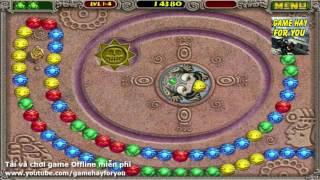 Game Zuma Deluxe - Chơi game Bắn vòng bi trên máy tính
