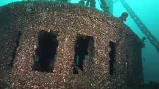 Daniel J. Morrell shipwreck, Lake Huron, USA