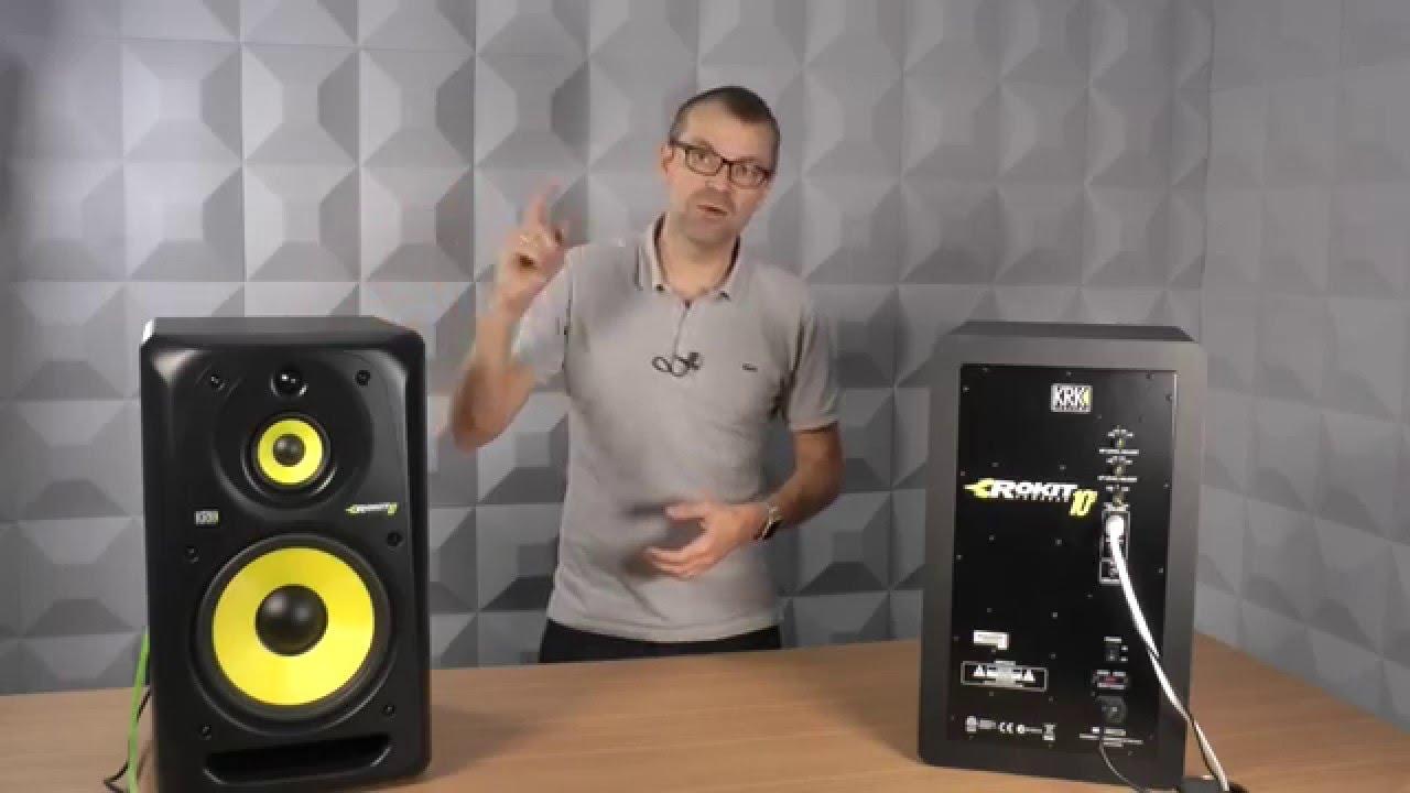 krk rokit 10 3 g3 talkthrough video youtube. Black Bedroom Furniture Sets. Home Design Ideas