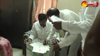 Gambar cover Udayagiri YSRCP MLA  Candidate M.Chandra shekar Reddy files nomination