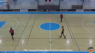 FBC Young Arrows Spišská Nová Ves VS FK Florko Košice 10.10.2021