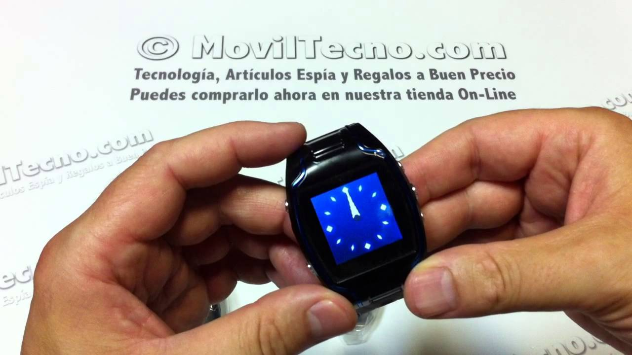 Reloj Móvil con localizador GPS en MovilTecno.com - YouTube