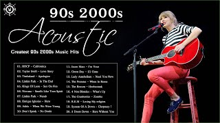 Acoustic Covers Of Popular Songs 90s 2000s   The Best Songs Of 90s 2000s - best songs 90's and 2000's