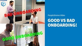Ever had a bad experience on the first day of job? download our onboarding checklist! https://www.peoplestreme.com/forms-templates/new-employee-onboardin...