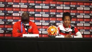 Trinidad & Tobago press conference 2016 Feb11 CONCACAF Olympic Qualifying