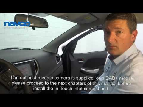 Mounting instruction In-Touch Suzuki Baleno