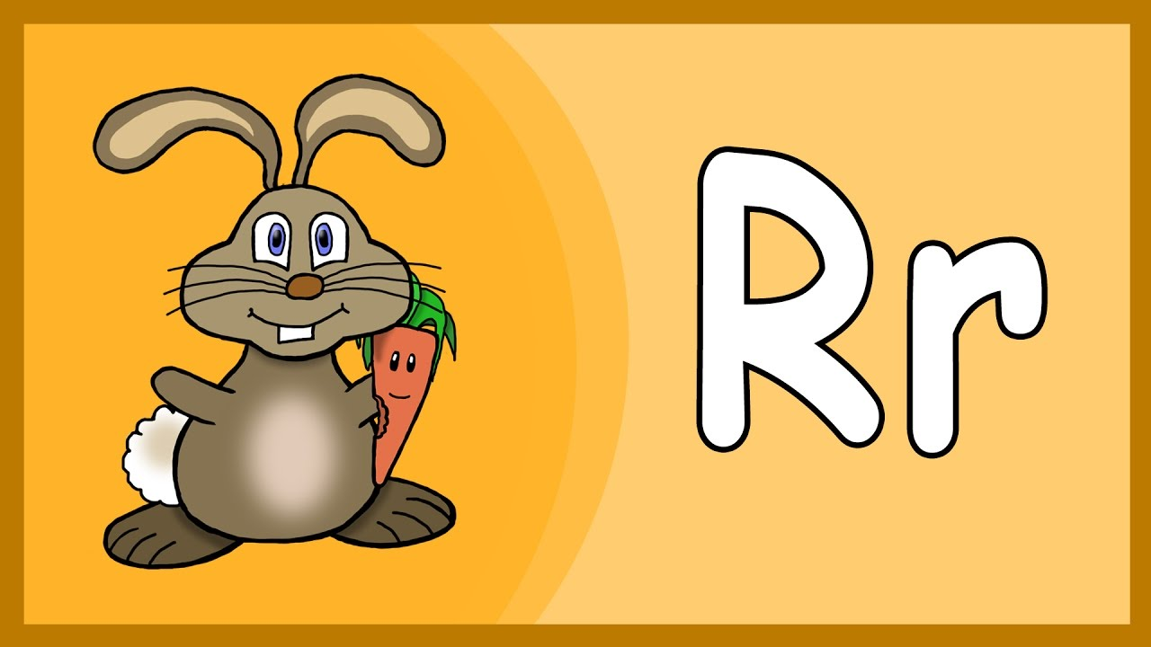 Learn The Letter R - Fast And Easy For Kids - The ABC With ...