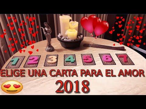 ELIGE UNA CARTA PARA EL AMOR 2018 TAROT GRATIS