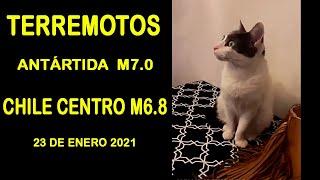 OLA DE SISMOS EN AMERICA DEL SUR HOY 23 DE ENERO 2021