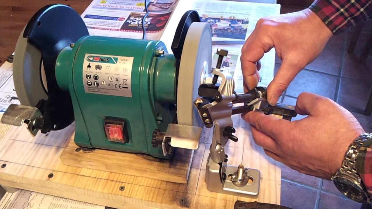 Drill Bit Sharpening Attachment Soporte Para Afilar