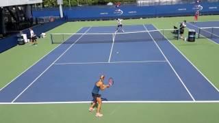 Angelique Kerber Practice US Open 2016