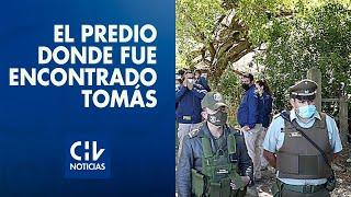 Así es el predio donde fue encontrado Tomás: Vecinos afirman que Escobar lo conocía
