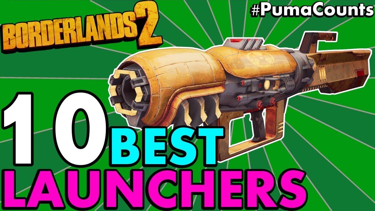 Top 10 BEST ROCKET LAUNCHERS in Borderlands 2! (Etech