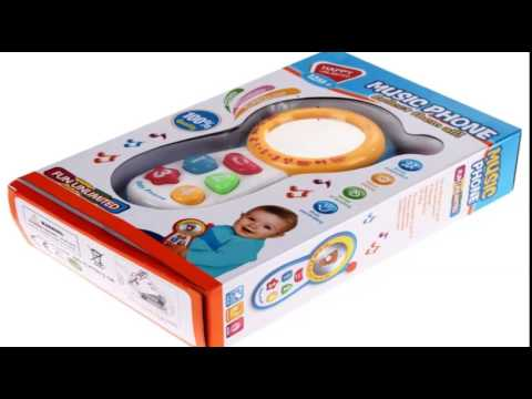 Baby Kids Toys Review - Musical Toy Educational Mobile Phone Learning Sound Toy for Children