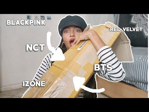 REACCIONO A MIS PRIMEROS ALBUMS KPOP *Casi Lloro* | BTS, NCT, Blackpink, Red Velvet,IZ*ONE| Kpopmart