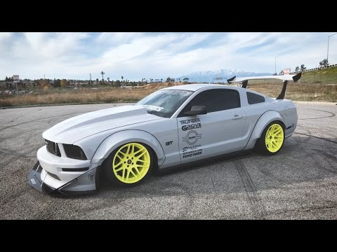 Andrew's Bagged & Wrapped '07 Mustang GT | Slammed Stangs