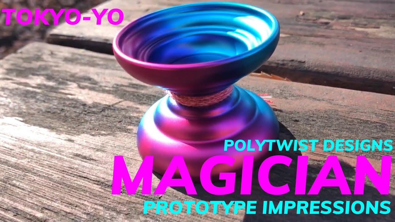 TokYo Yo Polytwist Designs Magician Impressions Prototype Yoyo
