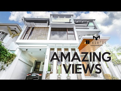 [Quezon City] Stunning Modern House and Lot for Sale with Captivating Views