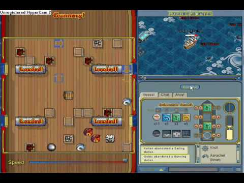 Puzzle Pirates Gunning In Battle (Yassenn)