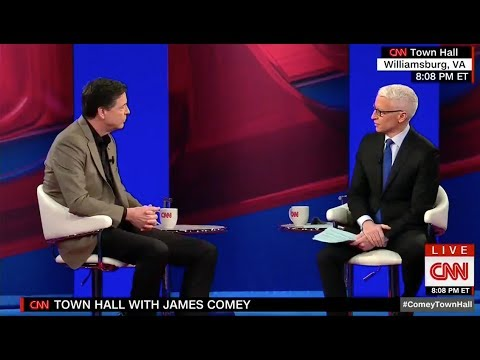 Anderson Cooper Grills James Comey On Leaking